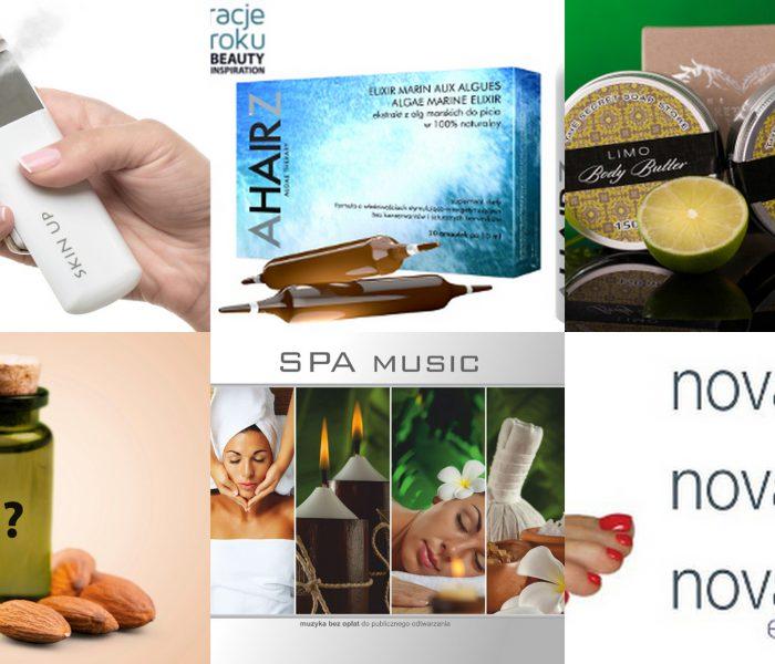 Zestawienie produktów do sprzedaży w salonie i spa