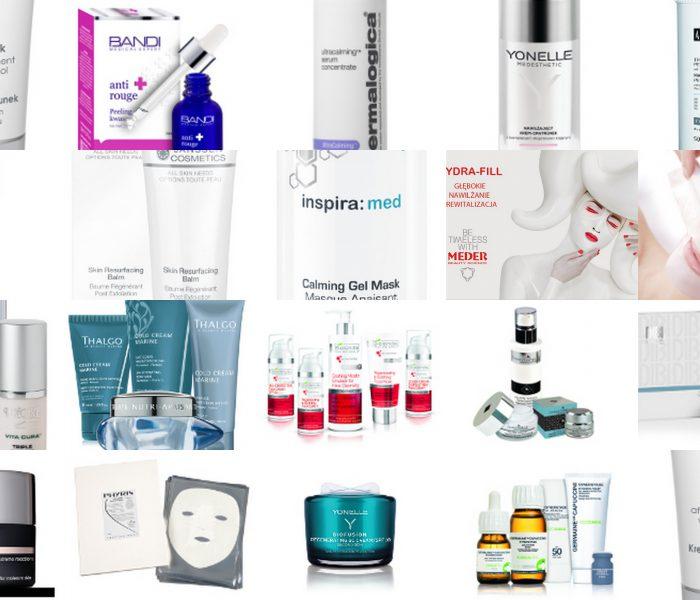 Zestawienie kosmetyków do pielęgnacji po zabiegach medycyny estetycznej