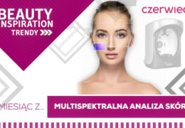 Beauty Inspiration TRENDY: multispektralna analiza skóry