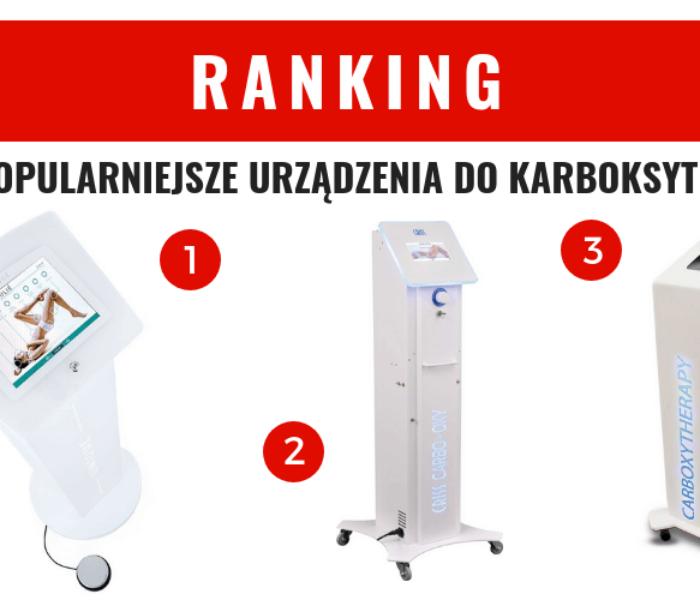 Najpopularniejsze urządzenia do karboksyterapii – ranking